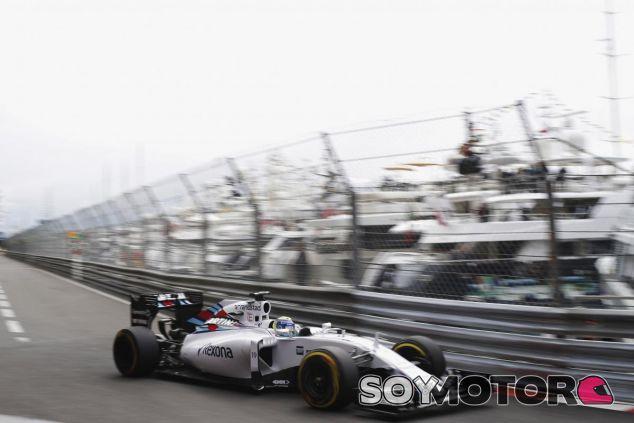 Felipe Massa con el Williams durante los libres del GP de Mónaco - LaF1