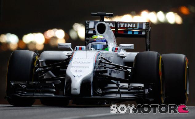 Felipe Massa en la salida del túnel de Mónaco - Laf1