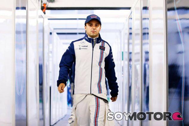 Massa rodó poco, como todos, pero fue el más rápido de la segunda sesión - LaF1
