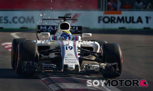 Williams en el GP de Azerbaiyán F1 2017: Sábado - SoyMotor.com