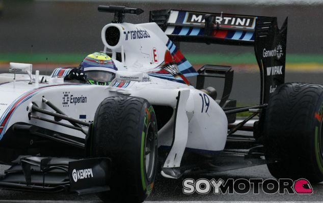 Williams en el GP de Bélgica F1 2014: Sábado