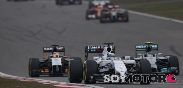 Williams en el GP de China F1 2014: Domingo