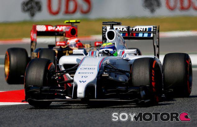 Felipe Massa en el Gran Premio de España - LaF1