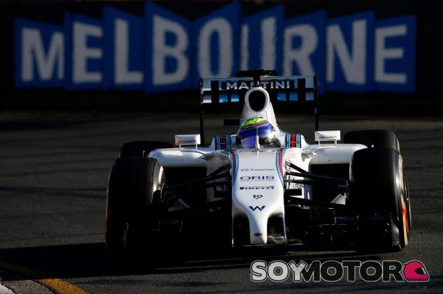 Felipe Massa durante los entrenamientos libres de Australia - LaF1