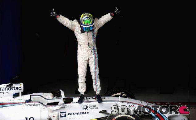 Felipe Massa en el parc fermé - LaF1
