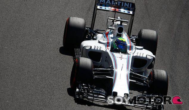 Massa, durante la calificación en México - LaF1