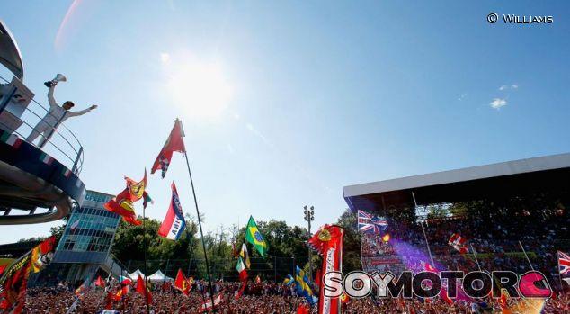 Podio de Monza - LaF1