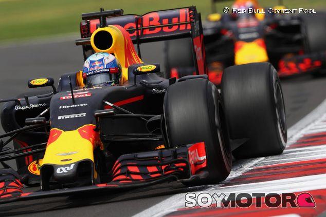 Daniel Ricciardo y Max Verstappen en México - LaF1