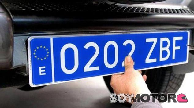 Matrículas Azules - SoyMotor.com