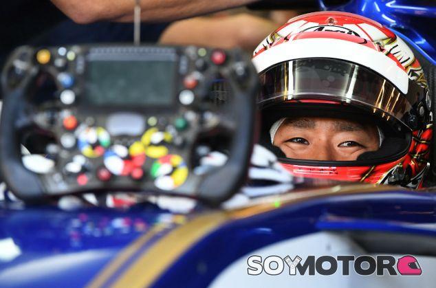 Matsushita, durante los test postGP de Hungría con Sauber - SoyMotor.com
