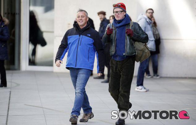 Matt LeBlanc y Chris Evans durante la grabación del primer capítulo de la temporada 23 de Top Gear - SoyMotor