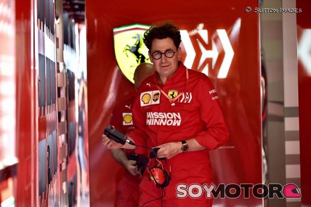 Mattia Binotto en el GP de España F1 2019 - SoyMotor