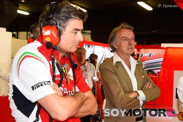 Luca di Montezemolo y Marco Mattiacci en una imagen de archivo de 2014 - LaF1