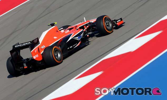 Max Chilton con el Marussia MR02
