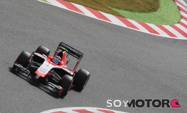 Max Chilton en el Circuit de Barcelona-Catalunya - LaF1