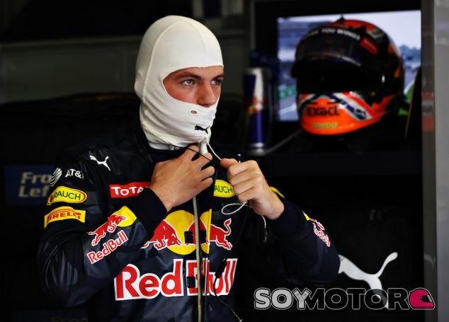 Max Verstappen se prepara en Monza - LaF1