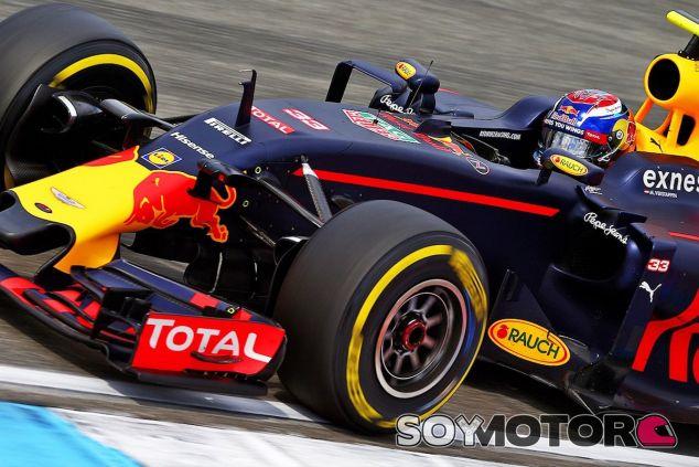 Max Verstappen en Hockenheim - LaF1