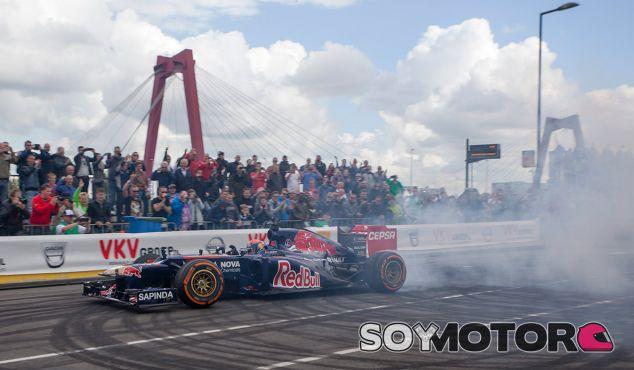 Max Verstappen en el Toro Rosso - LaF1