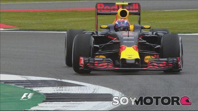 Max Verstappen en Silverstone - LaF1
