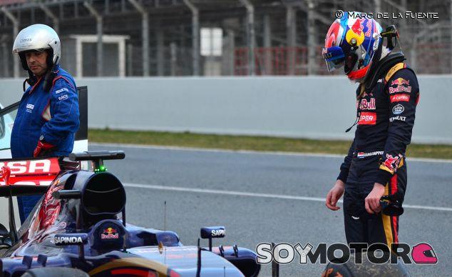 Max Verstappen ha provocado una bandera roja al final del día - LaF1