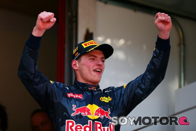 Verstappen ganó en su estreno con Red Bull - LaF1