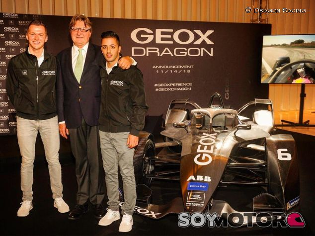 Maximilian Günther, Antonio Fuoco y Mario Moretti Polegato - SoyMotor.com