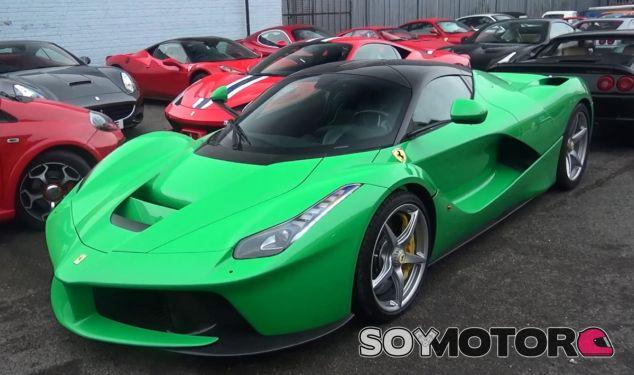 El modo 100% eléctrico del Ferrari LaFerrari es casi testimonial - SoyMotor