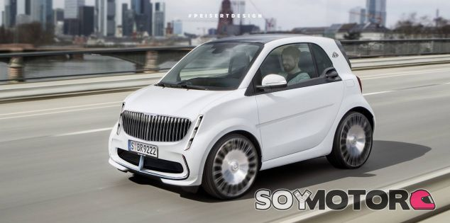 Maybach Smart - SoyMotor.com