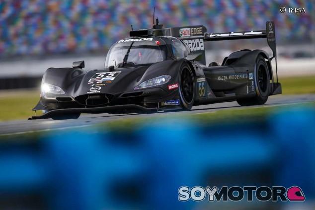 Mazda lidera los entrenamientos nocturnos en Daytona, Alonso 6º - SoyMotor
