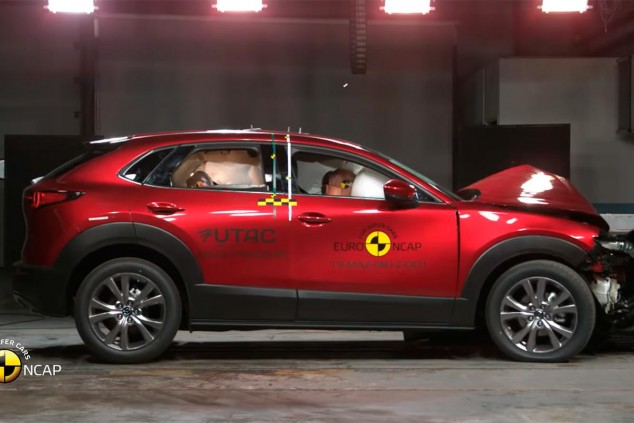 Mazda CX-30 en las pruebas EuroNCAP - SoyMotor.com