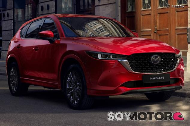 Mazda CX-5 2022 - SoyMotor.com