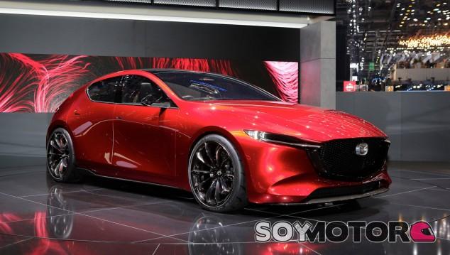 El Mazda Kai Concept adelante las líneas maestras del futuro Mazda3 - SoyMotor