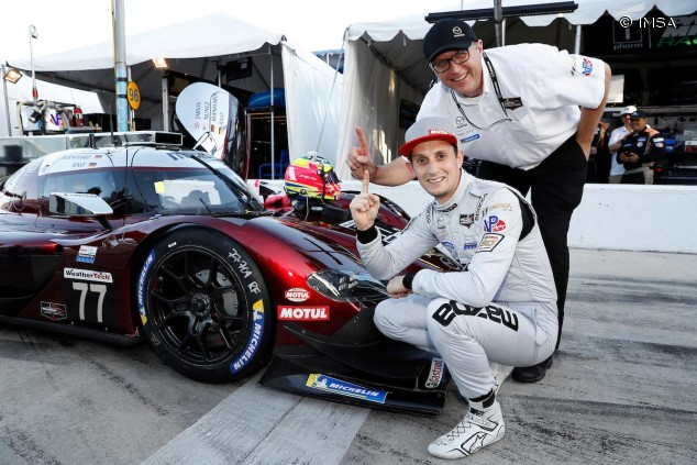 Pole del Mazda 77 en las 24 Horas de Daytona - SoyMotor