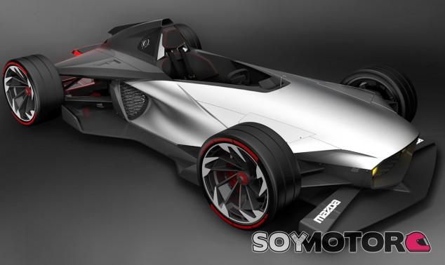 El Mazda FRX se sitúa entre el Ariel Atom, el Honda Project 2&4 y el Caterham Seven - SoyMotor