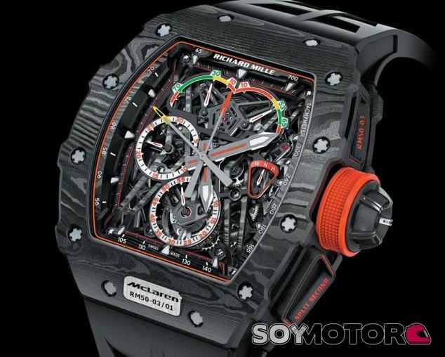 Richard Mille RM 50-03 McLaren F1, el reloj ultraligero con tecnología F1