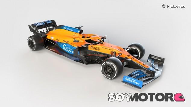 McLaren presenta su nuevo proyecto con Mercedes para 2021: el MCL35M - SoyMotor.com