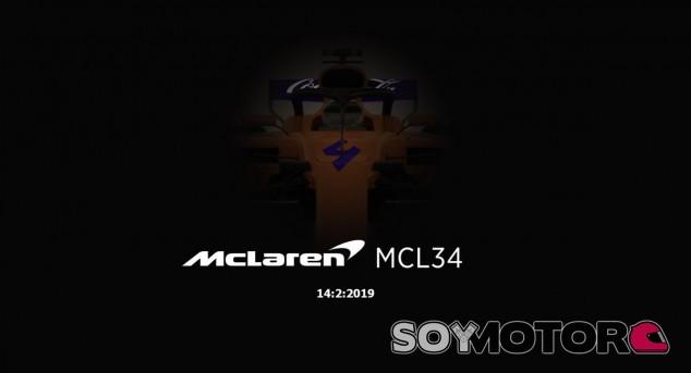 Supuesto render del MCL34 - SoyMotor.com