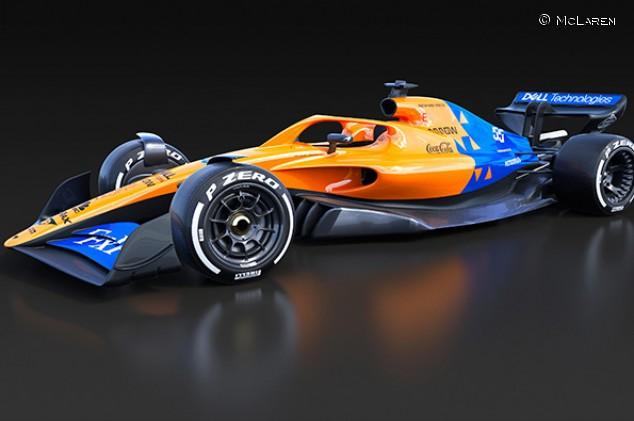 McLaren, Renault y Williams pintan con sus colores la F1 de 2021 - SoyMotor.com