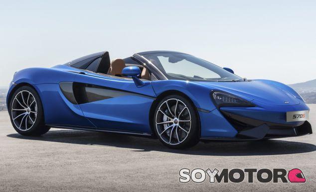 El precio del McLaren 570S Spider será unos 18.000 euros más caro que la versión coupé - SoyMotor