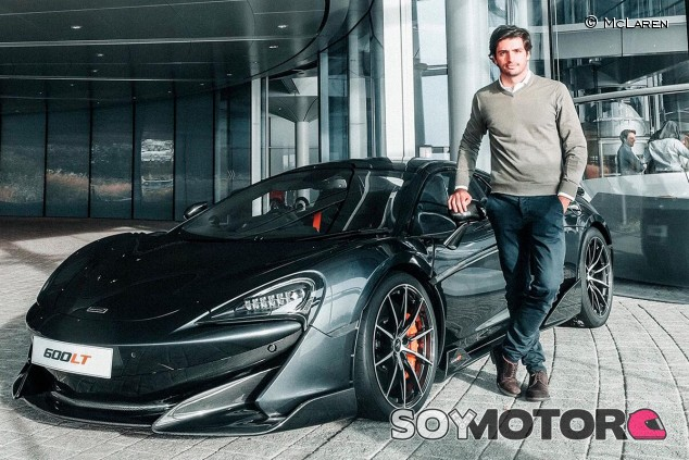 McLaren 600LT de Carlos Sainz - SoyMotor.com