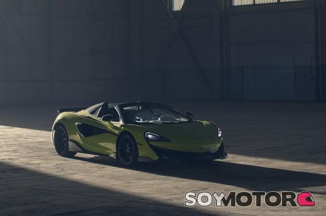 McLaren 600LT Spider: el quinto miembro de la familia 'Long tail' ya es oficial - SoyMotor.com