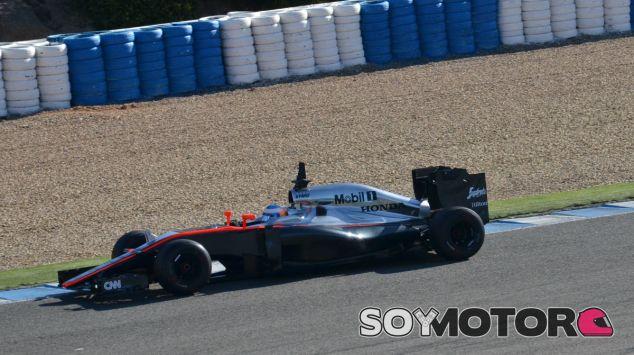 Fernando Alonso en Jerez - LaF1
