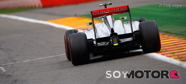 Sergio Pérez durante el Gran Premio de Bélgica F1 2013 - LaF1