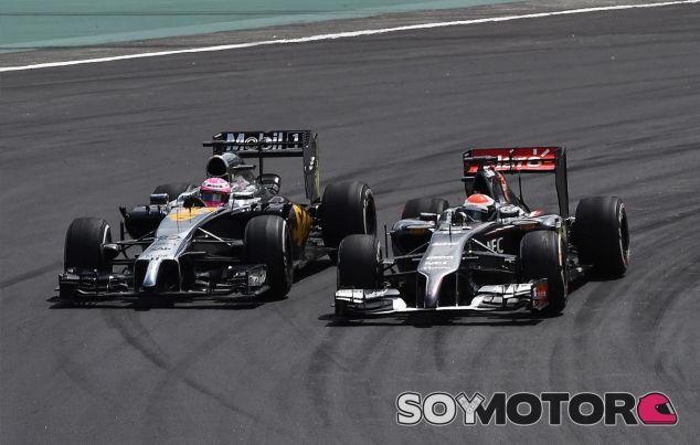 Jenson Button en Interlagos - LaF1