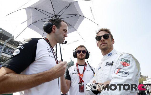 Jenson Button en México 2015 - LaF1