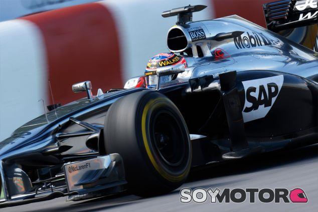 Jenson Button en Montréal - LaF1