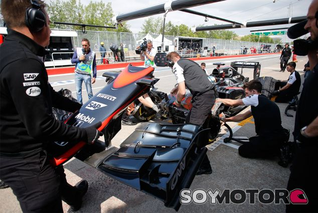 Las averías de McLaren no desaparecen en los Libres 3