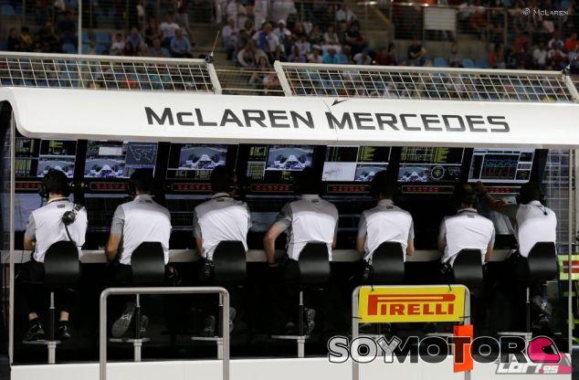 Pit-Wall de McLaren - LaF1