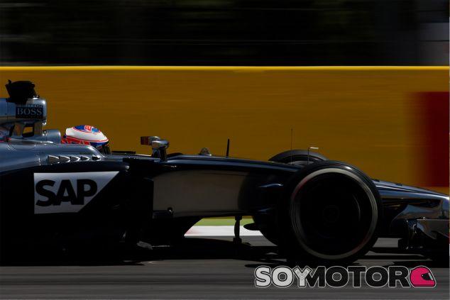 Jenson Button a los mandos del MP4-29 de McLaren - LaF1