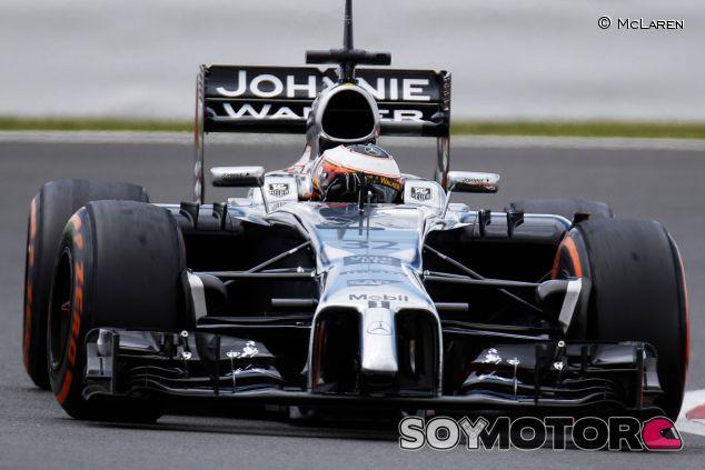 Stoffel Vandoorne durante los tests de Silverstone - LaF1